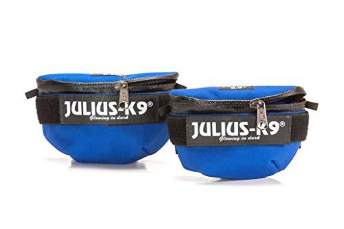Julius-K9 1621IDC-B-G Idc Universal Bolsas Laterales, Azul