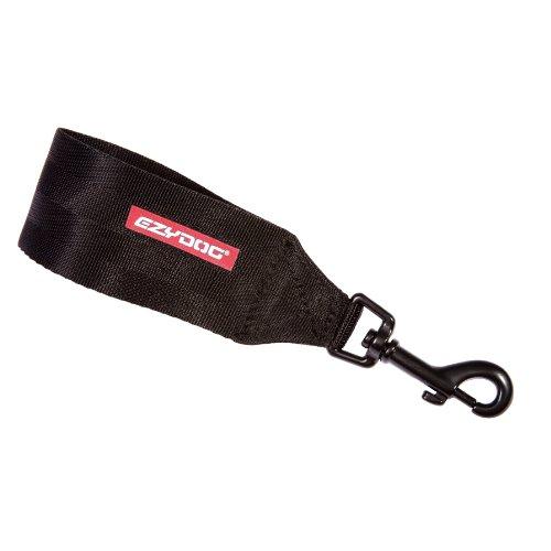 EzyDog Asiento de Coche Cinturón arnés de fijación (para), Negro