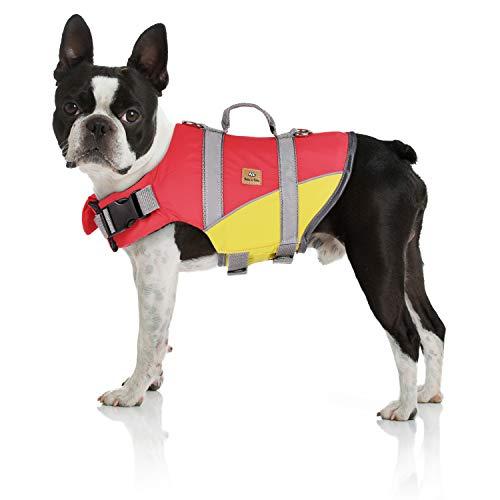 Bella & Balu - Chaleco salvavidas para perros - Chaleco reflectante para perros para la máxima...