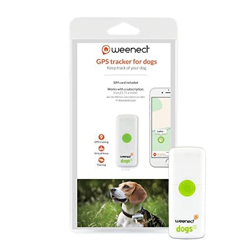 Weenect Dogs 2 - El collar GPS para perros más pequeño del mundo