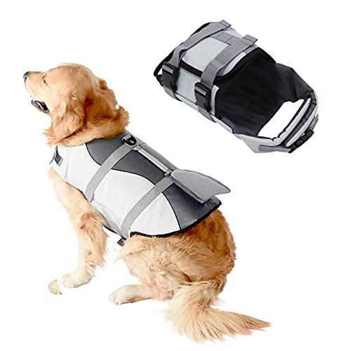 SILD Chaleco Salvavidas Ajustable para Perros Salvavidas de Seguridad Chaleco Reflectante para...