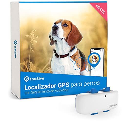 Tractive Collar GPS Perros (2021). Conoce Siempre la ubicación de tu Perro. Localización y...