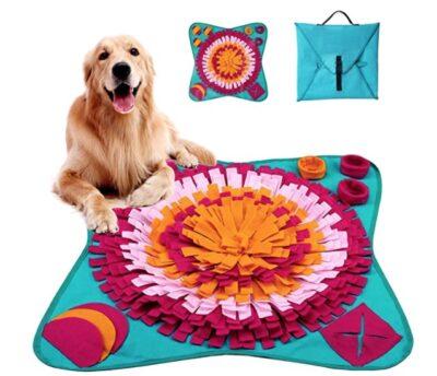alfombra olfativa perro